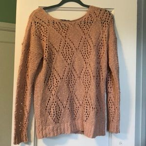 Forever 21- Open Knit Cozy Sweater